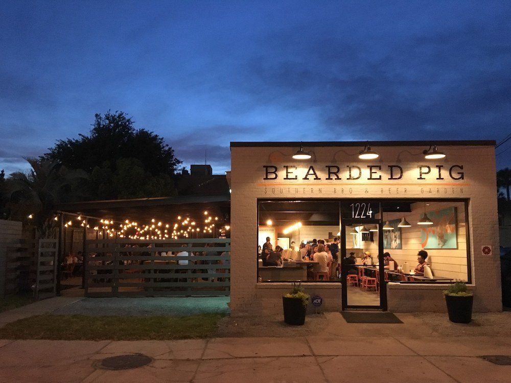 The Bearded Pig BBQ in Jacksonville, Florida