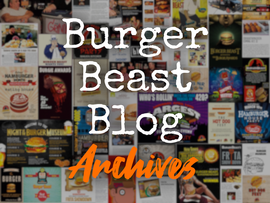 Burger Beast Blog Archives