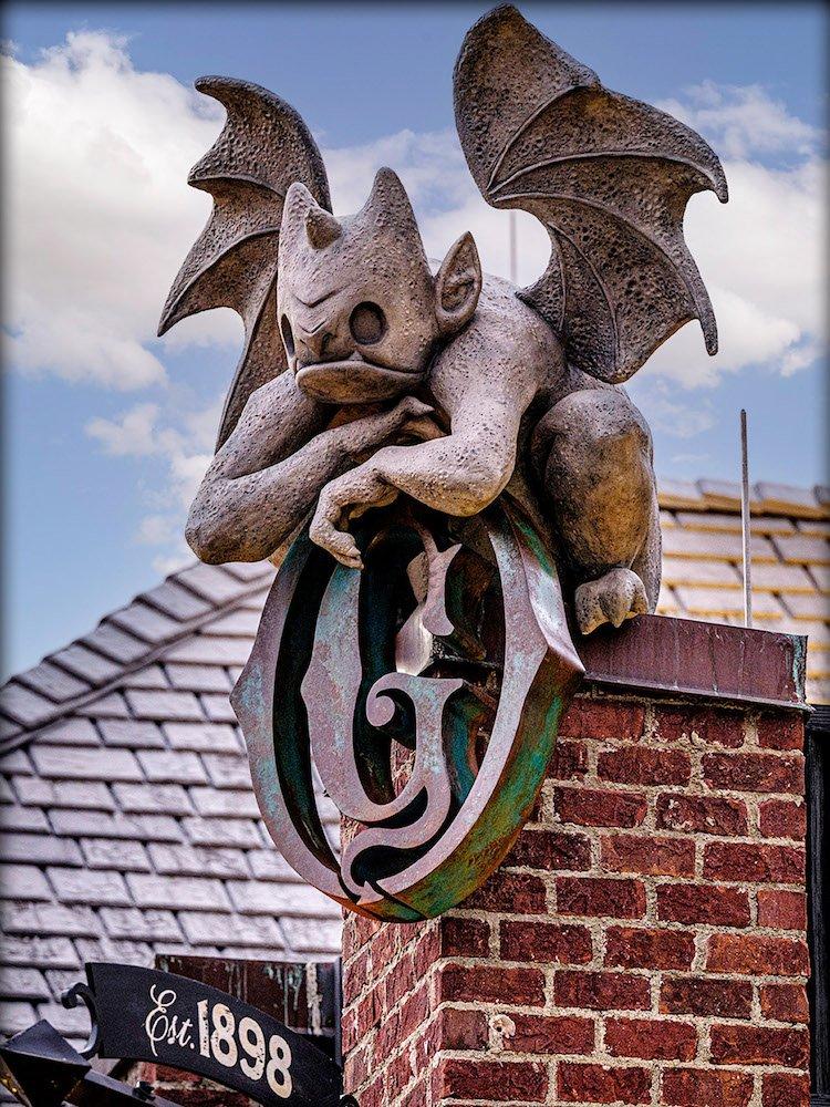 Gideon's Bakehouse Gargoyle