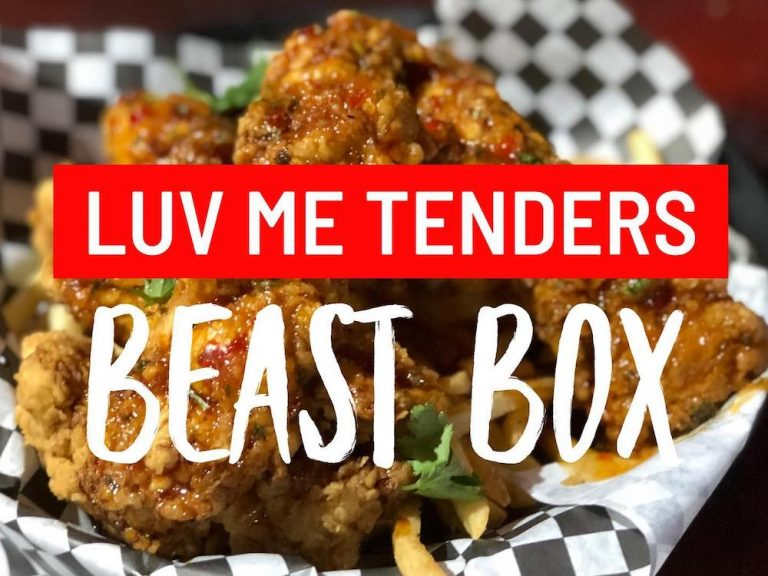 Luv Me Tenders BEAST Box for Valentine's Day 2021