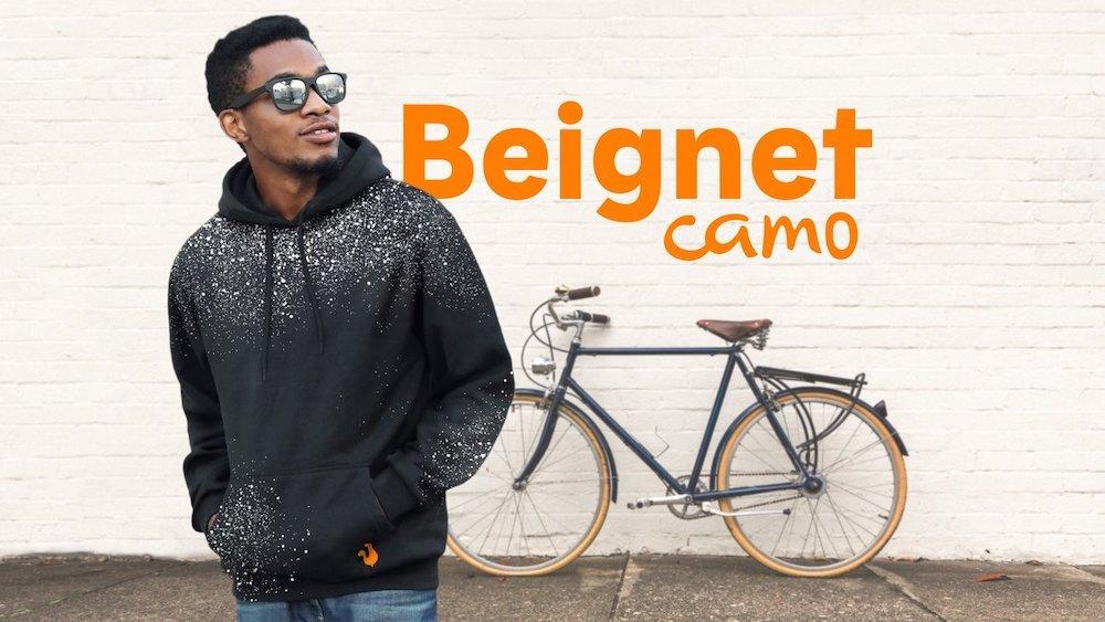 Popeyes Beignet Camo