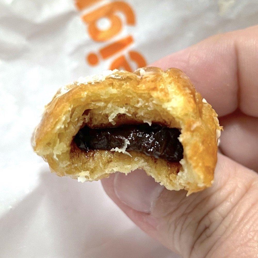 Chocolate Beignet insides