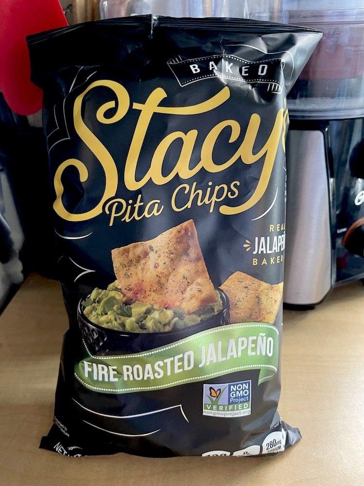 Stacy's Pita Chips Fire Roasted Jalapeño