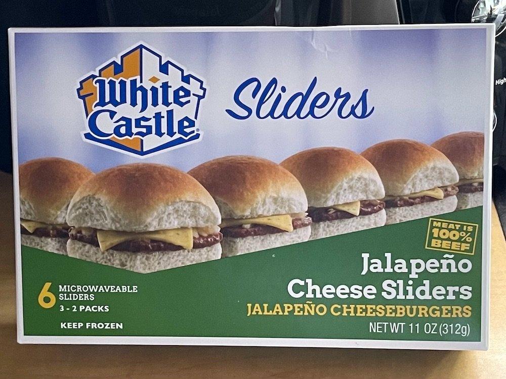 White Castle Jalapeño Cheese Sliders