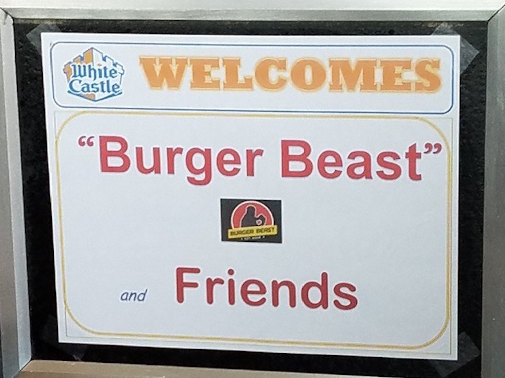 White Castle Welcomes Burger Beast & Friends
