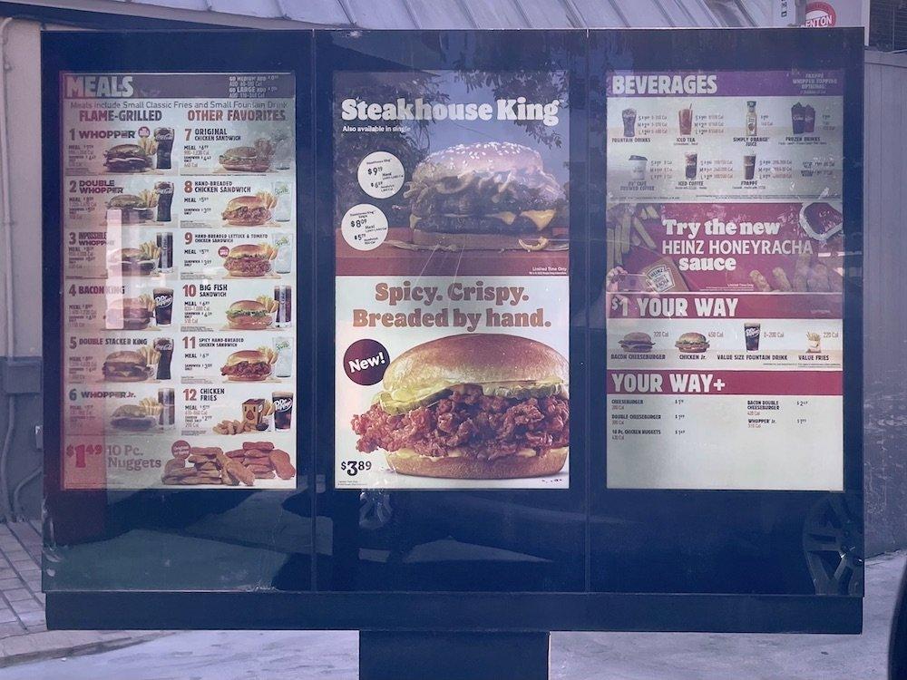 Burger King Spicy Chicken Drive-Thru Ad