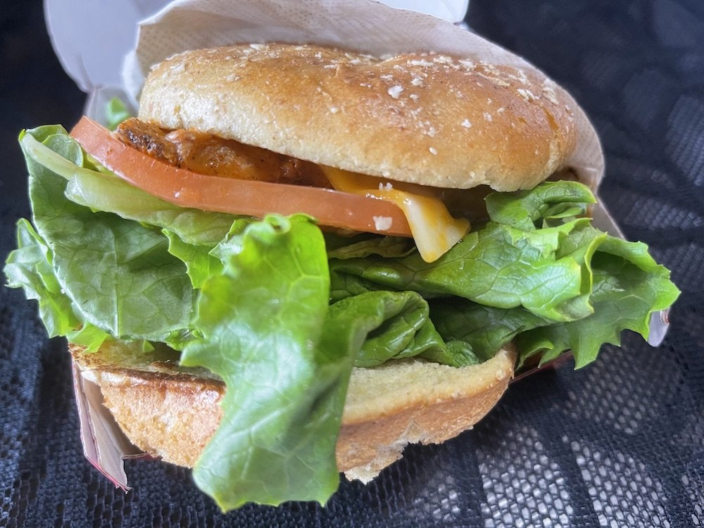 Chick-fil-A Grilled Chicken Spicy Deluxe Sandwich