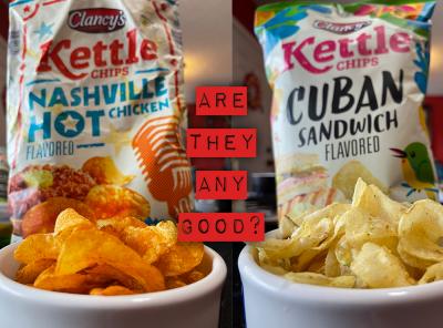 Clancy's Nashville Hot Chicken & Cuban Sandwich Chips