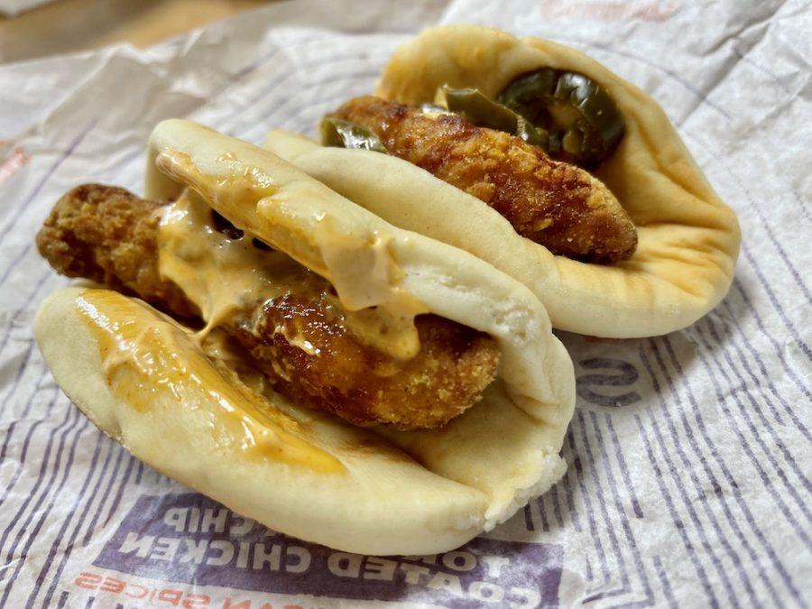 Taco Bell Crispy Chicken Sandwich Taco