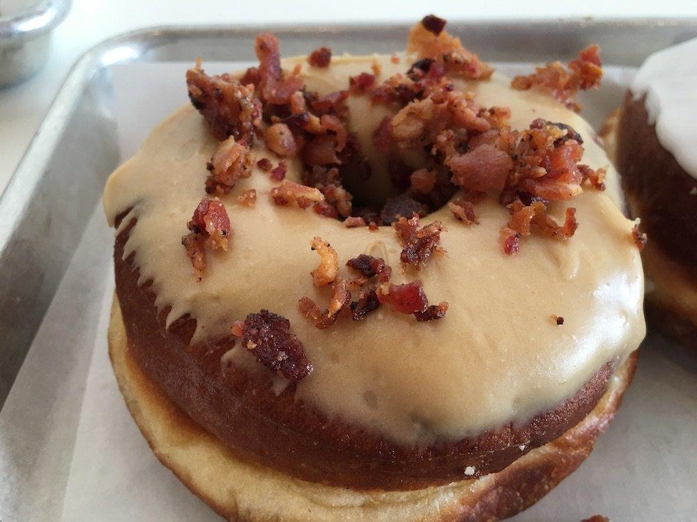 Butterscotch Bacon Doughnut