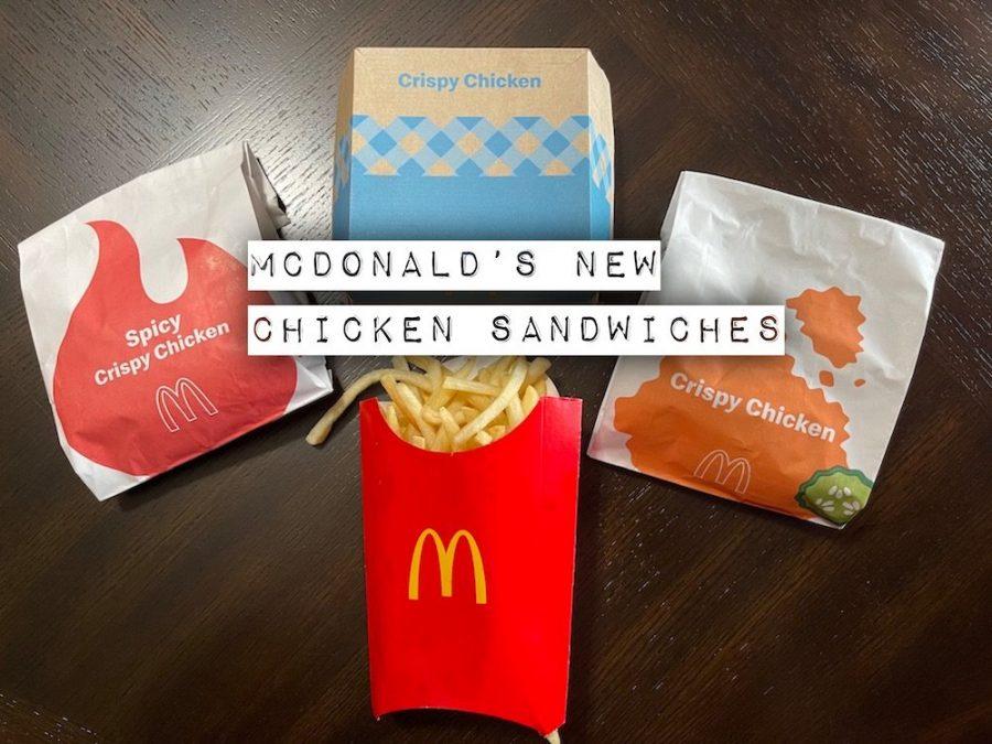 McDonald's NEW Crispy Chicken Sandwiches