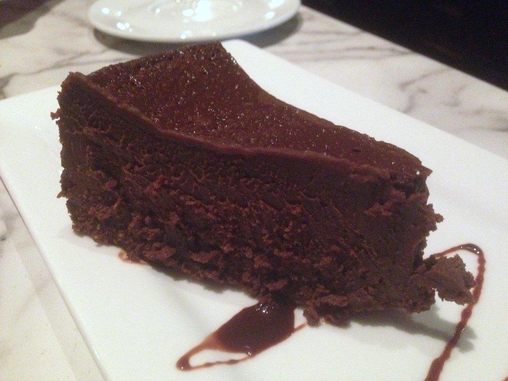Flourless Espresso Chocolate Cake