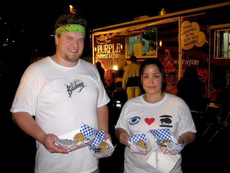 David Shipman & Michelle Duncan of Purple People Eatery
