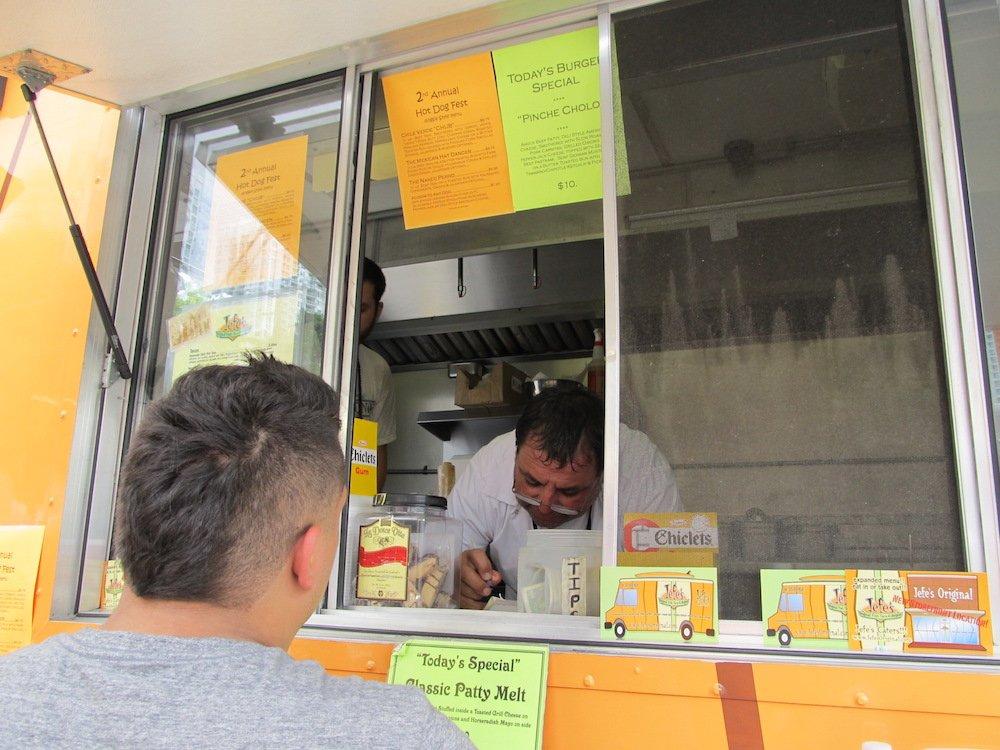 Jefe's Original Fish Taco & Burgers at Hot Dog Fest 2013