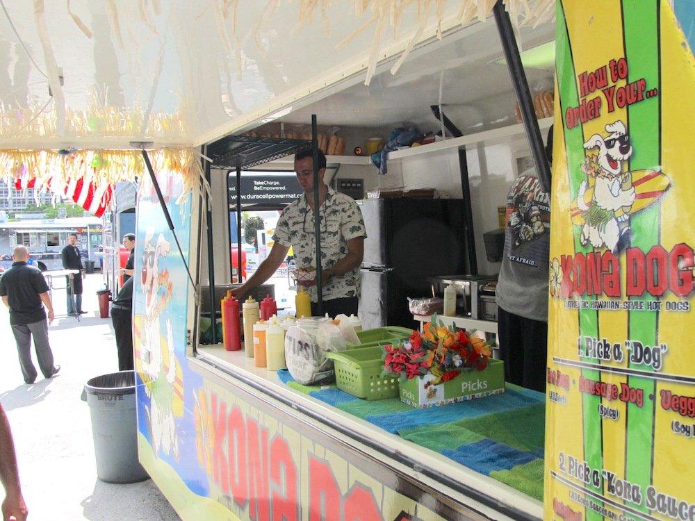 Kona Dog at Hot Dog Fest 2013