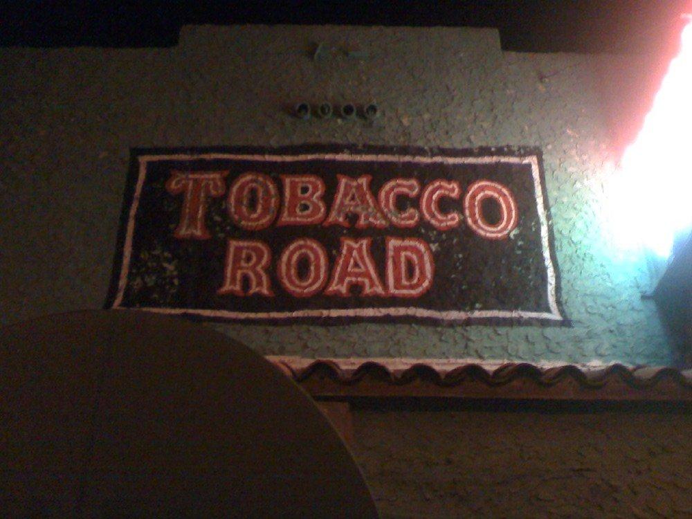 Tobacco Road Sign