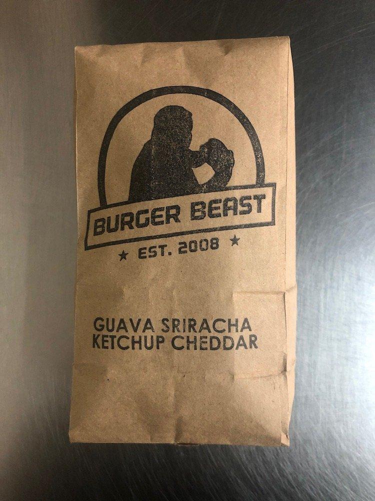 Burger Beast's Guava Sriracha Ketchup Popcorn