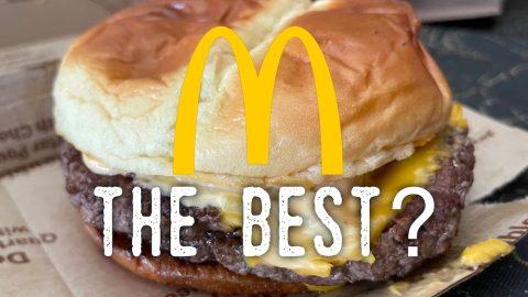 The Best Burger at McDonald's
