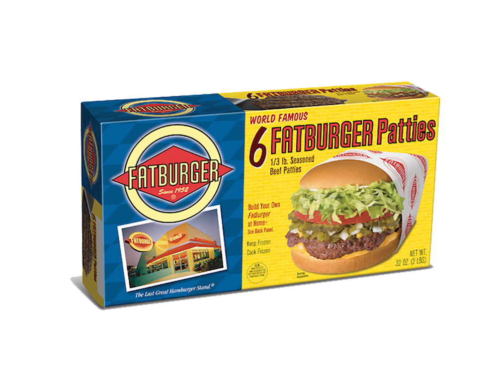 Fatburger Frozen Patties at Walmart