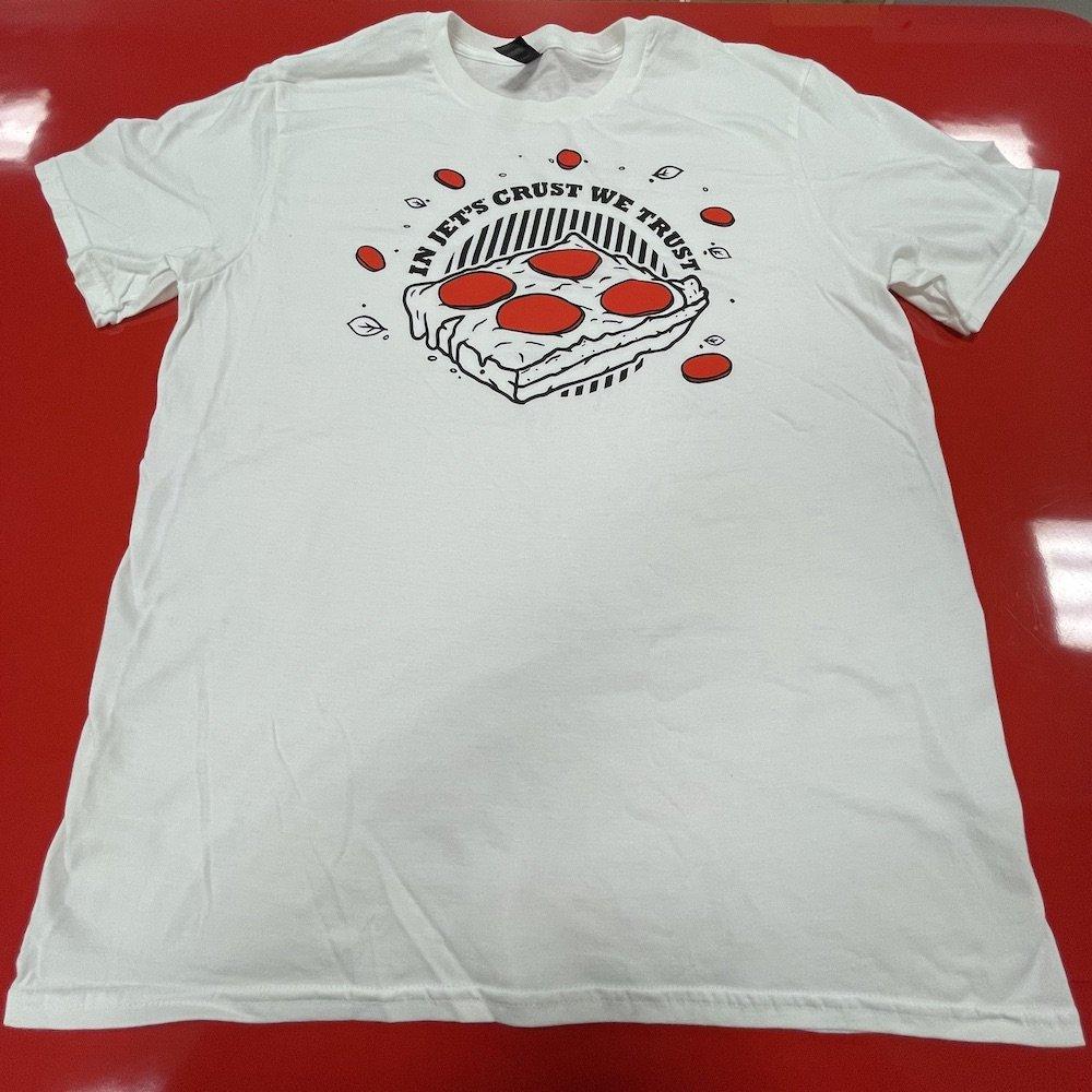 Jet's Pizza In Jet's Crust We Trust T-shirt