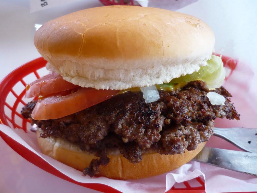 Schoop's Double Cheeseburger