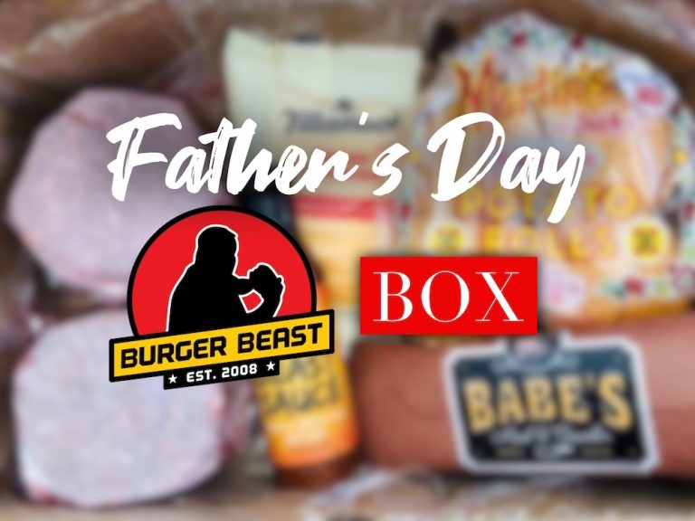Father's Day Burger BEAST Box is BACK!