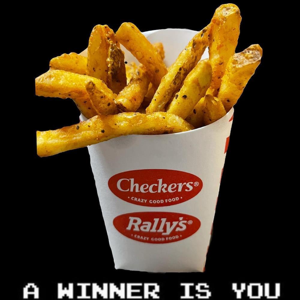 Checkers/Rally's Seasoned Fries Win