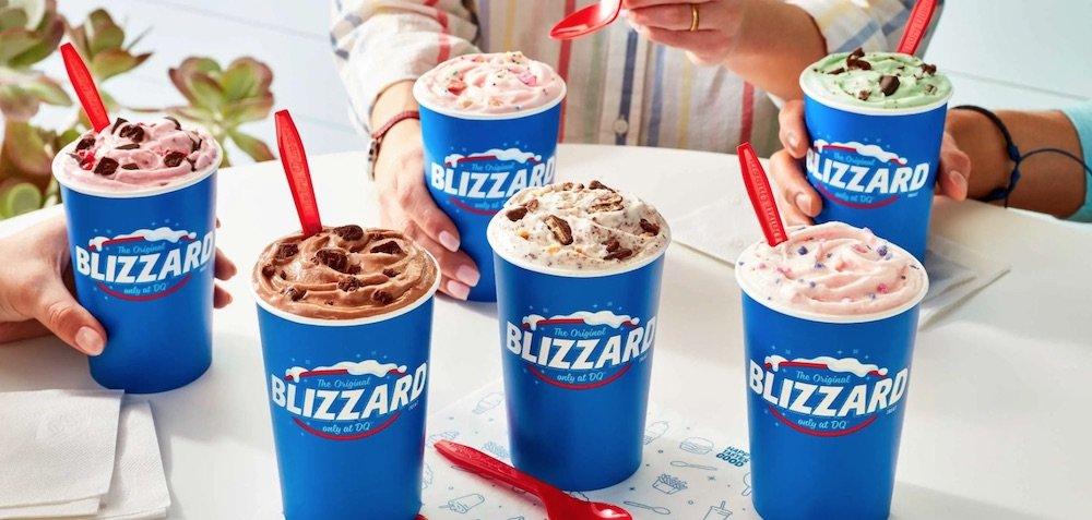 Dairy Queen Summer Blizzard Menu 2021