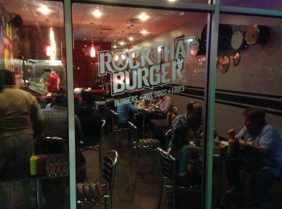 Yellow Submarine Morphs into Rock That Burger