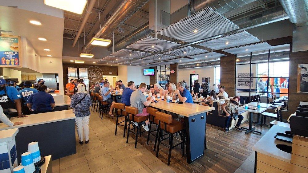 White Castle Orlando Dining Area