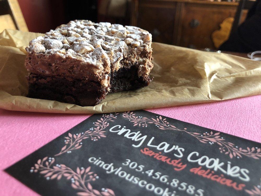 Cindy Lou's Cookies' Brownie