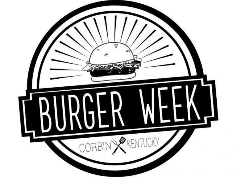 Corbin Kentucky Burger Week June 7th-12th, 2021