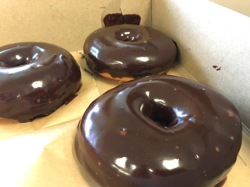 Empire Bagel Factory Chocolate Doughnuts
