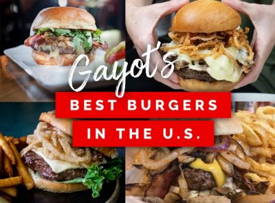 Gayot's 2021 Best Burgers in the United States