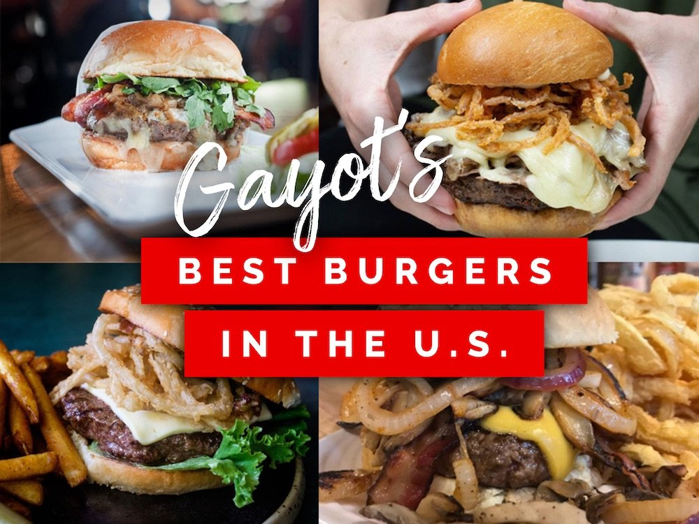 Gayot's Best Burgers in the U.S.
