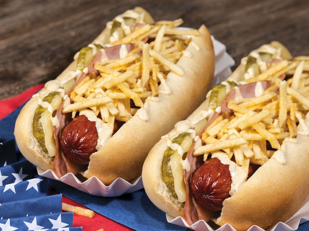 Pollo Tropical 4th of July Dog