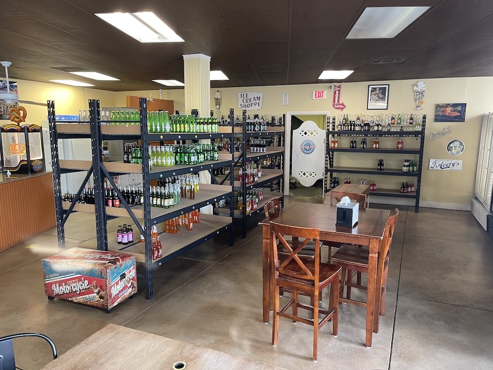 Inside the Sebring Soda Shop