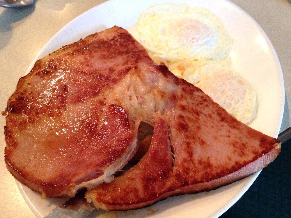 Ham Steak from Sunflower Cafe