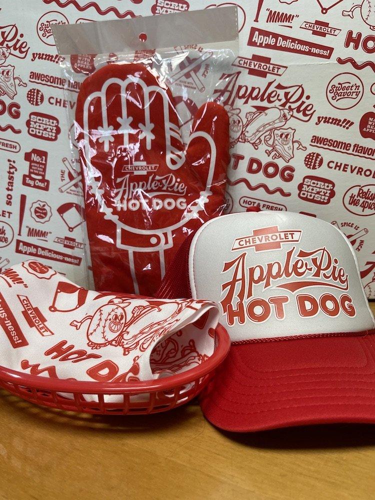 Guy Fieri + Chevy Apple Pie Hot Dog Swag
