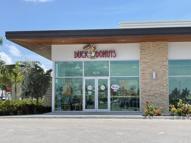 Enjoying Made-To-Order Duck Donuts in Naples