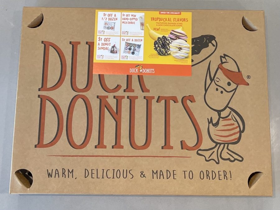 Duck Donuts Box