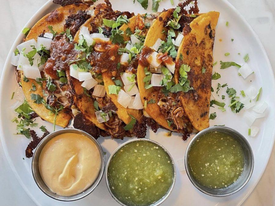 Latin House's Birria Tacos