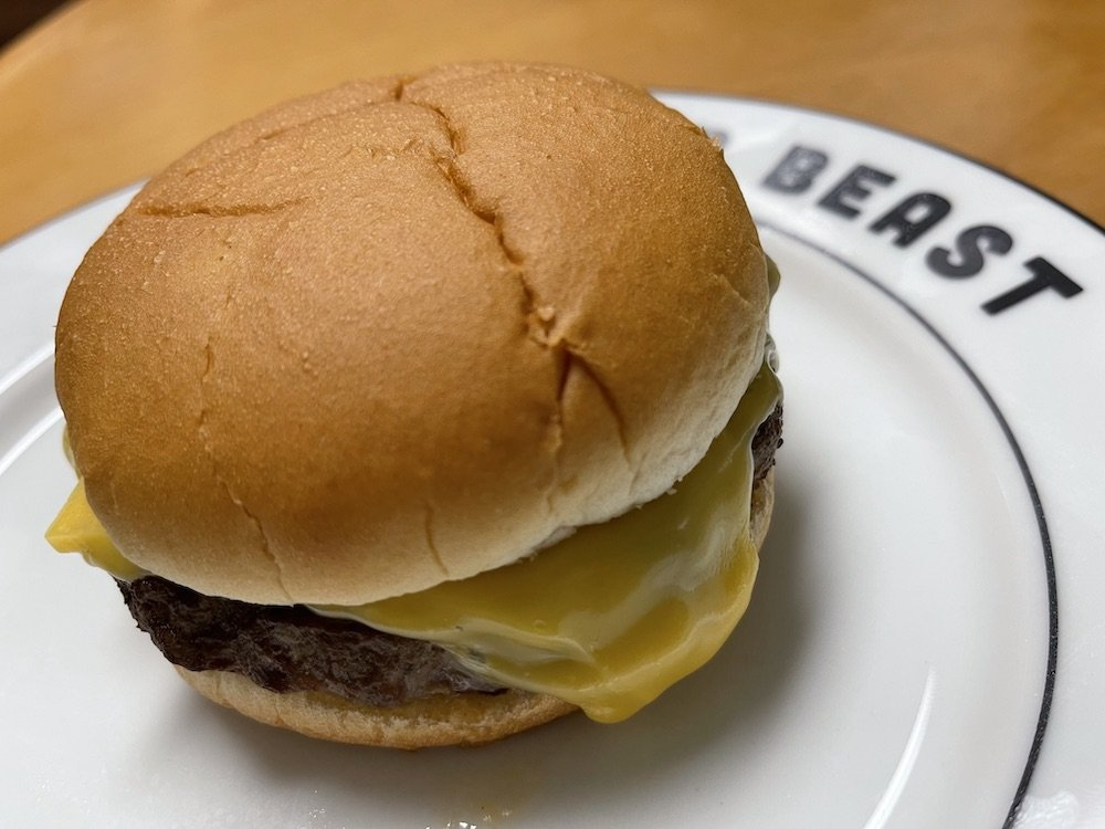 Quick 'N Eat Half-Pound Burger