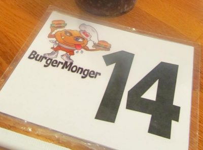 Burger Monger in Tampa, Florida
