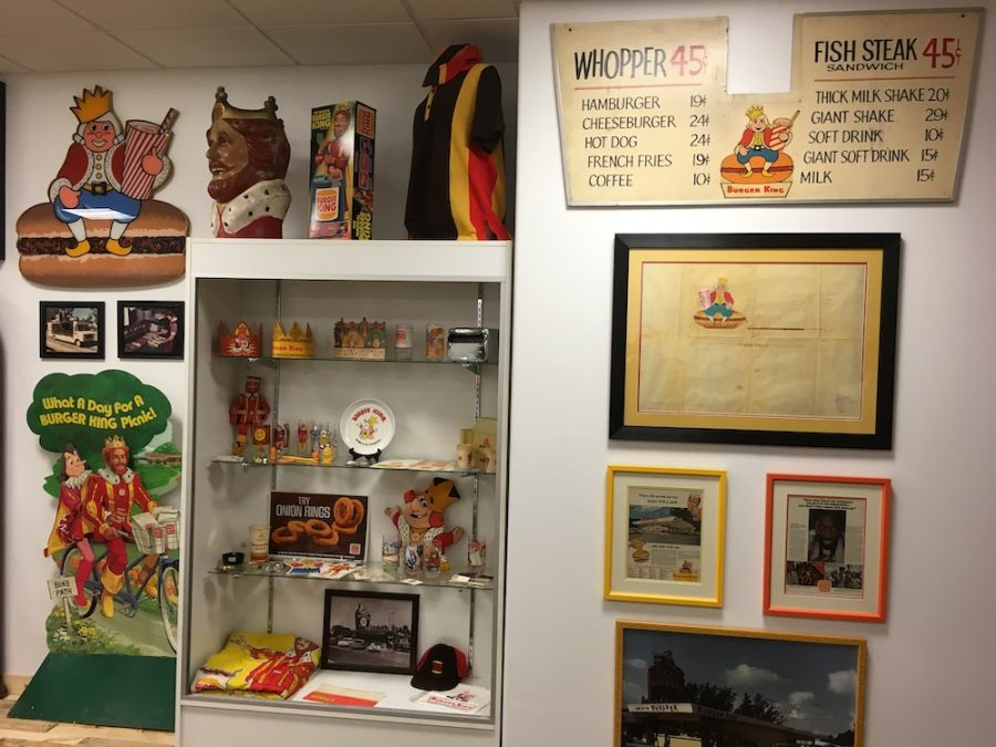 Burger King area at my Burger Museum (R.I.P.)