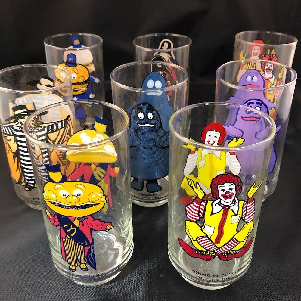 Burger Museum McDonaldland Cups