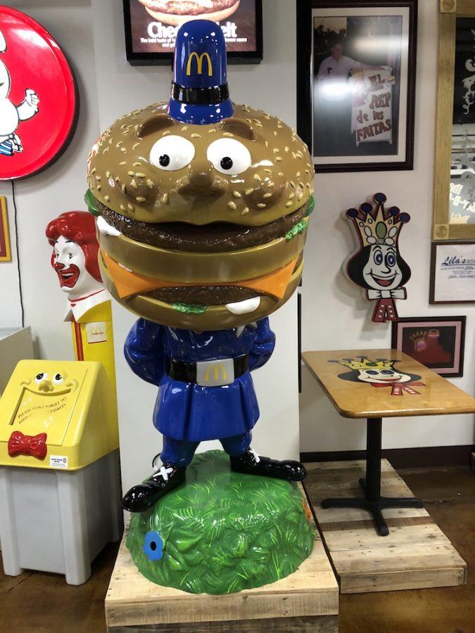 Officer Big Mac Statue at Burger Beast Burger Museum